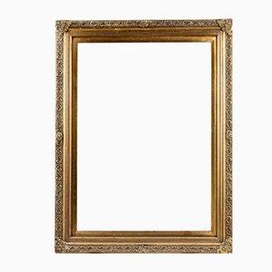 Goldener rechteckiger Rahmen