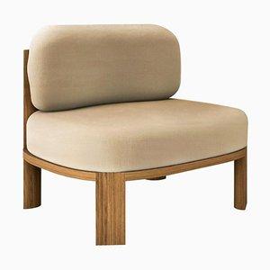 Unique Armlehnstuhl aus Eiche von Collector