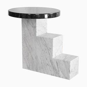 Einzigartiger Esstisch aus schwarzem Marmor von Jean-Baptiste Van Den Heede