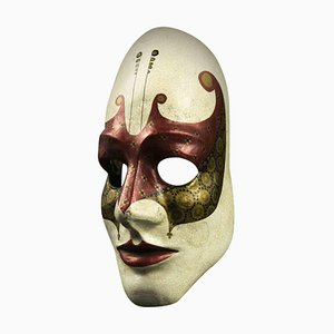 Máscara de carnaval florentina vintage