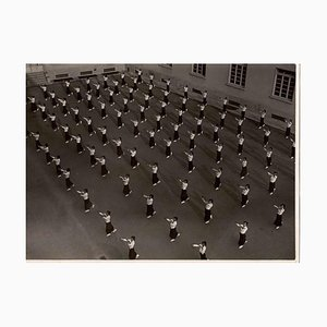 Unknown, The Show of United Women in Uniform, Vintage B/W Photo, 1930s