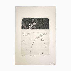 Leo Guida, The Lonely, 1972, Original Radierung