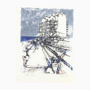 Renzo Vespignani, Sin título, 1962, Litografía original