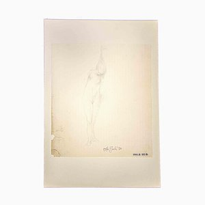 Leo Guide, Nudes, 1970, Originalzeichnung