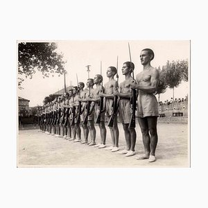 Unbekannt, Soldiering, Vintage S / W Photo, 1930er