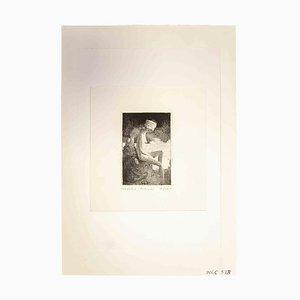 Leo Guide, Nude, 1970, Impresión original