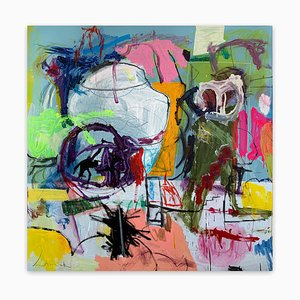 Untitled21B, Abstraktes Gemälde, 2021