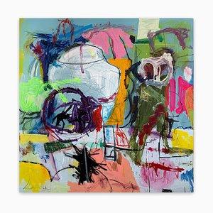 Untitled21B, Pintura abstracta, 2021