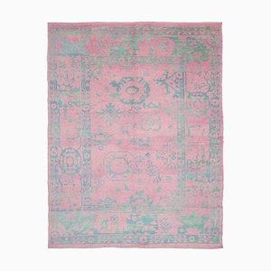 Alfombra marroquí rosa