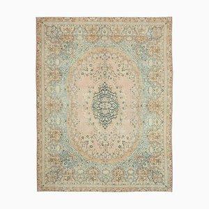 Beige Großer Vintage Teppich