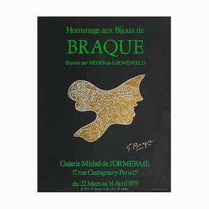Expo 79 Galerie Michel de l'Ormeraie Poster, Bijoux de Braque, Georges Braque