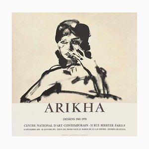 Expo 71 Centre National d'Art Contemporain Poster by Avigdor Arikha