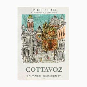 Expo 71 Galerie Kriegel Poster von André Cottavoz