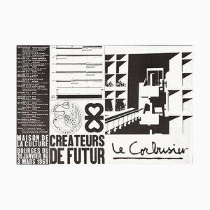 Créateurs du Futur Poster von Le Corbusier