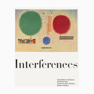 Expo 61 Interférences Delpire éditeur Poster by Wassily Kandinsky