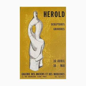 Expo Galerie des anciens et des Modernes Poster von Jacques Herold