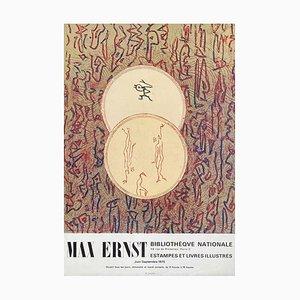 Expo 75 Bibliothèque Nationale Poster von Max Ernst