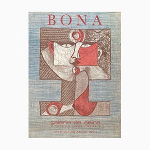 Expo 74 Galerie de Seine Poster by Bona de Mandiargues