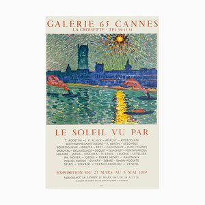 Expo 67 Galerie 65 Cannes Poster by André Derain