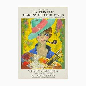 Expo 55 Musée Galliéra (de Luxe) Poster von Kees Van Dongen