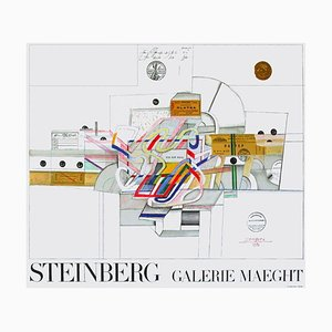 Expo 70 Galerie Maeght Poster by Saul Steinberg