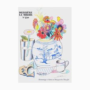 Pot de Fleurs par Saul Steinberg