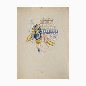 La Princesse de Babylone 02 (Essai 3) de Kees Van Dongen