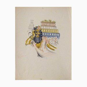 La Princesse de Babylone 02 (Essai 4) von Kees Van Dongen