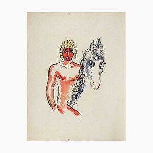 La Princesse de Babylone 03 (Essai 1) von Kees Van Dongen