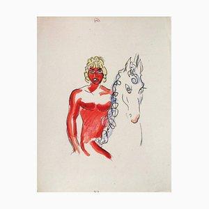 La Princesse de Babylone 03 (Essai 2) von Kees Van Dongen
