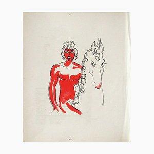La Princesse de Babylone 03 (Essai 3) von Kees Van Dongen