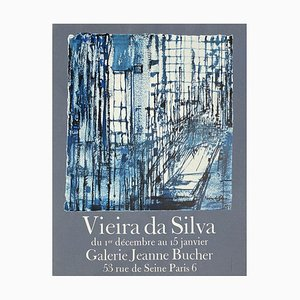 Expo 71 Galerie Jeanne Bucher Plakat von Maria Elena Vieira Da Silva