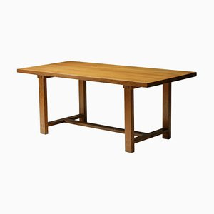 Mid-Century French Dining Table by Pierre Chapo for COR