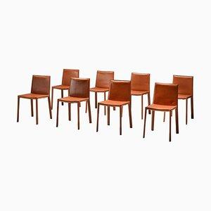 Italienische Esszimmerstühle von Arrben, 8er Set