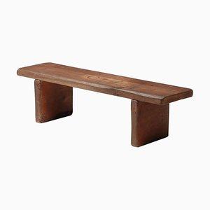Wabi-Sabi Oak Bench