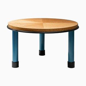 Mesa de madera nudosa de Ettore Sottsass para COR