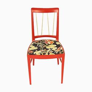 Roter Stuhl von Oswald Haerdtl für Thonet, 1953