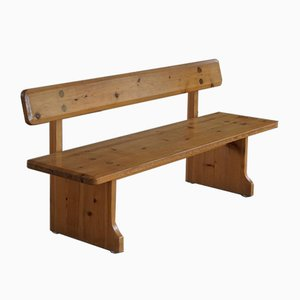 Mid-Century Swedish Pine Bench by Carl Malmsten for Karl Andersson & Söner, 1960s