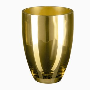 Bowl Cup in Gold Glass from Vgnewtrend