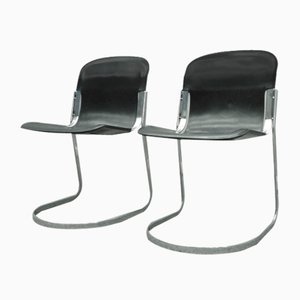 Italian Dining Chairs, 1970s, Set of 2