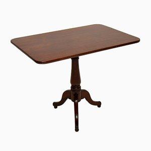 Antique Georgian Solid Wood Tilt-Top Table