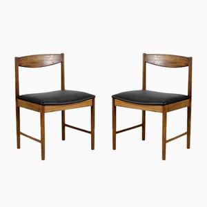 Teak Esszimmerstühle von McIntosh, 1960er, 4er Set