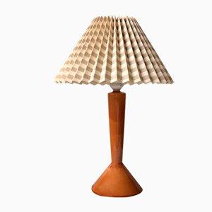 Vintage Burnt Orange Table Lamp by Jo Hammerborg for Fog & Mørup, 1960s