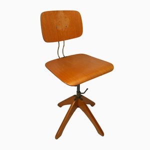 Adjustable Polstergleich Architect's Chair by Margarete Klöber for Klöber GmbH, Germany, 1950s
