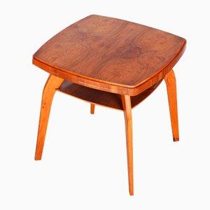 Small Mid-Century Czech Beech Table
