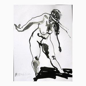 Staand Naakt (Standing Nude) by Wim van Broekhoven