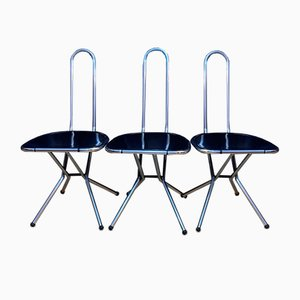 Chairs by Niels Gammelgaard for Ikea, Sweden, 1980s, Set of 3