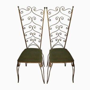 Italian Side Chairs by Pier Luigi Colli, 1950s, Set of 2