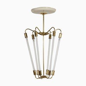Bauhaus Tl KH 620 Pendant Light in Brass from Technische Unie, 1950s