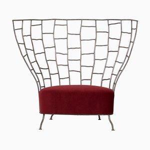 Skulpturaler Stuhl von Boda Horak für Anthologie Quartett, 2000er